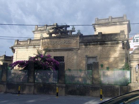 Casa de la Piedra, en Porcuna.