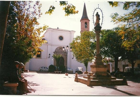 Plaza de San Juan, en Arjona.