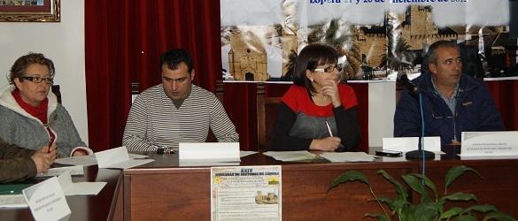 Concejales socialistas en el Ayuntamiento de Lopera.