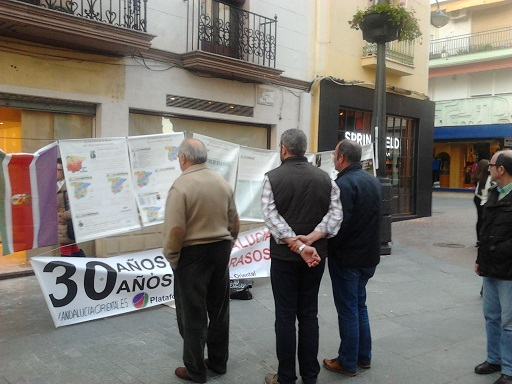 Anterior exposición celebrada en Andújar.