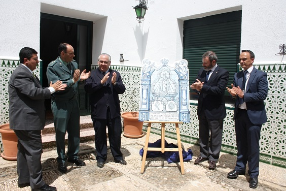 Azulejo Guardia Civil
