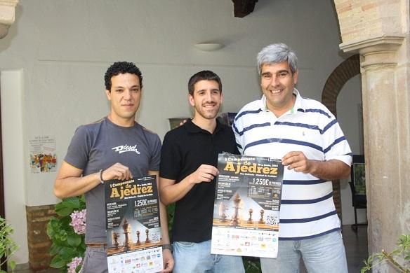 Acto de presentación del I Campeonato de Ajedrez San Eufrasio-Ciudad de Andújar.