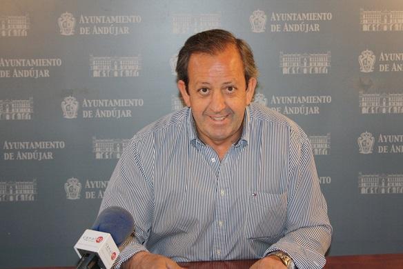 El Concejal de Personal en el Ayuntamiento de Andújar, Francisco Carmona.
