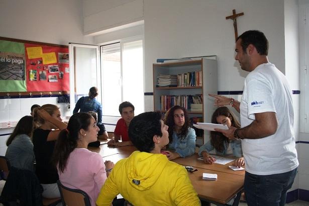 Celebrando el Día Europeo de las Lenguas en el año 2012 (Andújar).
