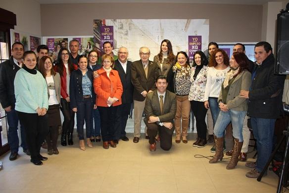 Acto oficial  de presentación de la Campaña de Navidad en Andújar.