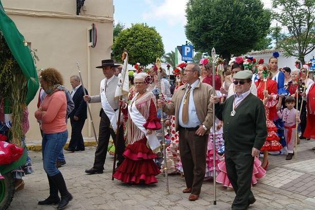 Una fiesta romera en la Comarca de Andújar.