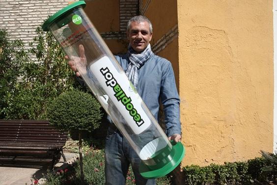 El concejal de Medio Ambiente, Pedro Alcántara.