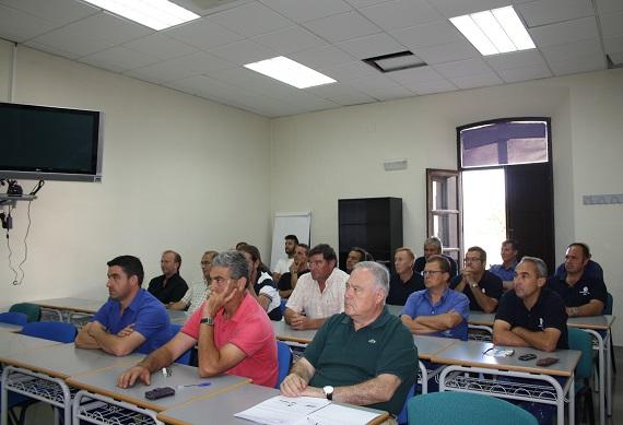 Participantes en el Curso de Formación en Prevención de Riesgos Laborales.
