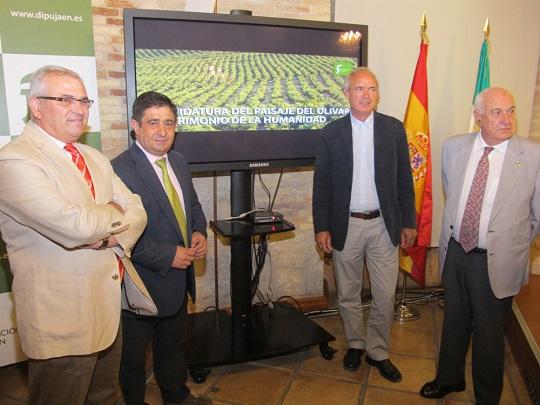 Manuel Parras, Francisco Reyes, Francisco Casero y Juan Ramón Guillén.