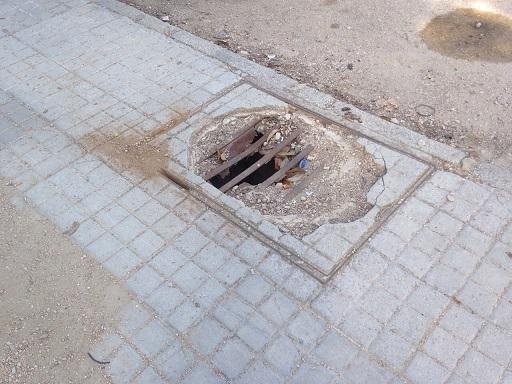 Estado del Polígono en Andújar.