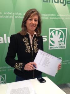 La andalucista Encarna Camacho.