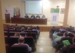 Celebración de las jornadas en el Vivero de Empresas de la Cámara de Comercio de Jaén.