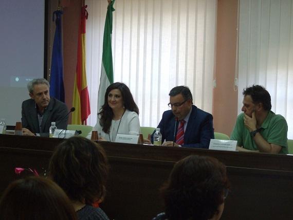 Diego Ramos preside este encuentro regional de mediación escolar.