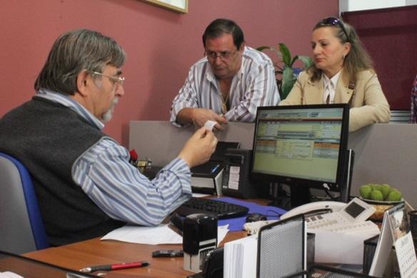 Servicio de registro municipal en el Ayuntamiento de Andújar.