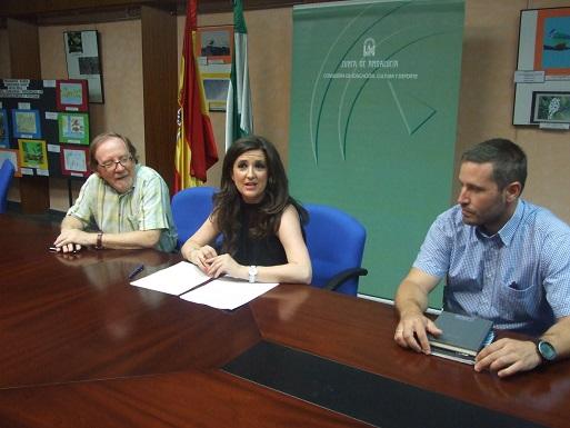 La delegada territorial de Educación, Cultura y Deporte, Yolanda Caballero, ha presentado esta oferta.