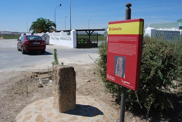 Nueva señalización en Villanueva de la Reina.