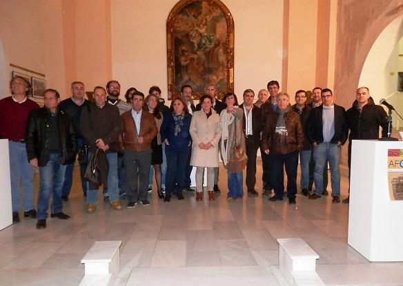 Asociados de AFOAN presentes en esta exposición.