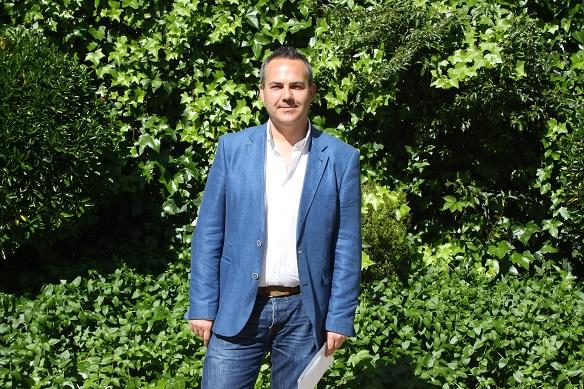 El Concejal de Presidencia y Seguridad Ciudadana del Ayuntamiento de Andújar, Jesús del Moral.