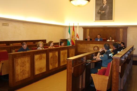 Andújar acogió una reunión de la Comisión para la Atención a Mujeres Víctimas de Malos Tratos y Agresiones Sexuales.