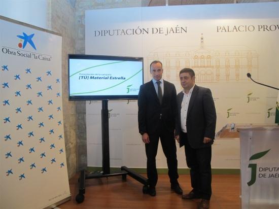 Miguel Serrano y Francisco Reyes presentan la campaña [Tú] Material Estrella.