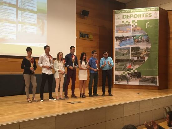 Acto de entrega de premios del VIII Gran Premio de Carreras Populares.