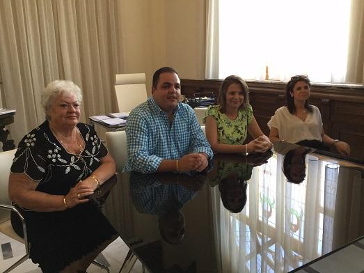 La delegada del Gobierno, Ana Cobo, y el alcalde de Martos, Víctor Torres, han participado en este encuentro.