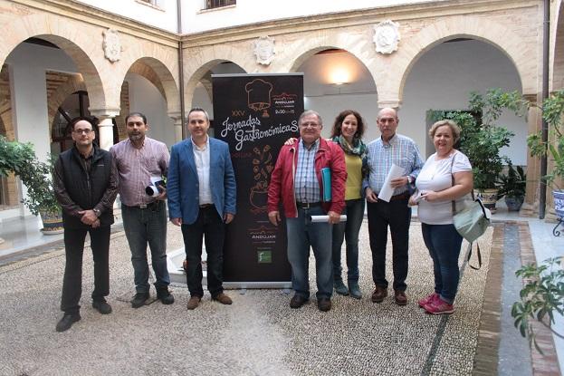 """Acto de presentación de las """"XXV Jornadas Gastronómicas de Andújar""""."""