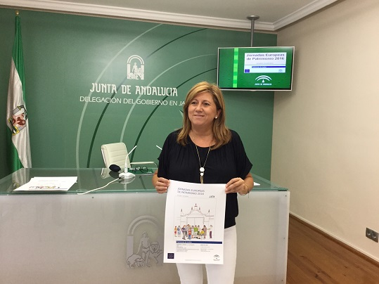 Pilar Salazar presentó estas Jornadas Europeas de Patrimonio.