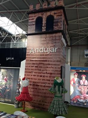 El stand de Andújar.