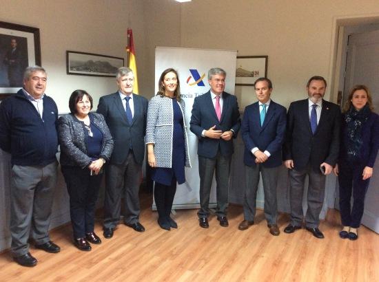 El secretario de Estado de Hacienda, José Enrique Fernández de Moya, realizó su primera visita a Jaén tras su nombramiento por el Consejo de Ministros.