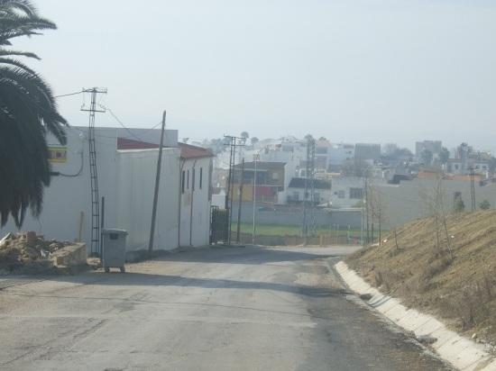 Una imagen de la carretera Lopera- Arjona, vía en la que tuvo lugar el accidente.