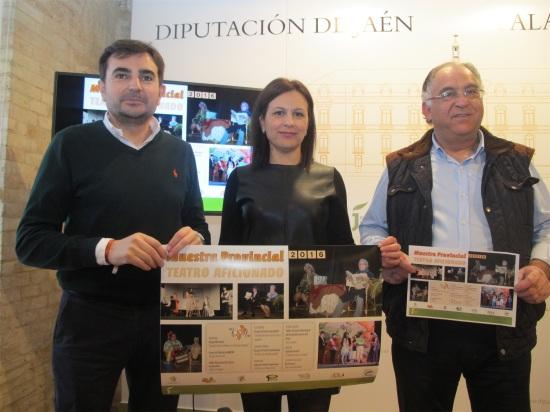 Juan Ángel Pérez, Isabel Uceda y Francisco Cerezo presentan esta Muestra.