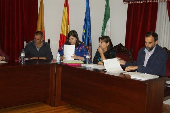 Concejales de Izquierda Unida en el Ayuntamiento de Lopera.