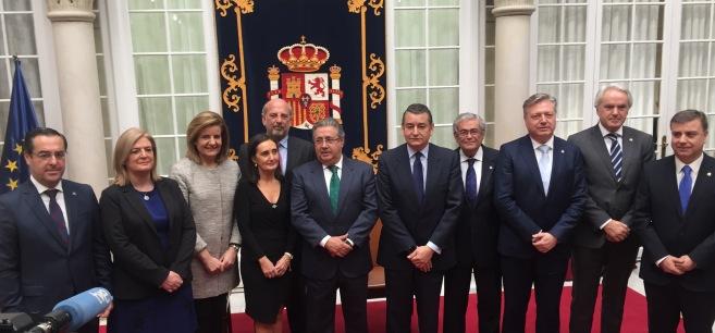 Los nuevos subdelegados de Jaén, Cádiz, Granada y Sevilla han tomado posesión de sus cargos.