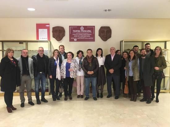 El Teatro Principal de Andújar acogió los actos de esta jornada festiva para la comarca. Foto: Prodecan.
