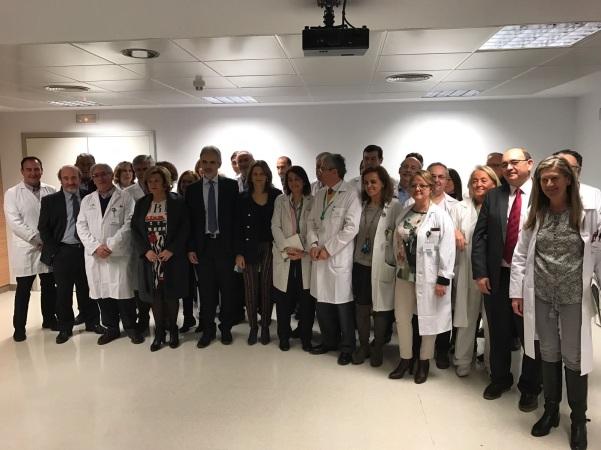 El consejero de Salud, Aquilino Alonso, ha visitado el Complejo Hospitario de Jaén.
