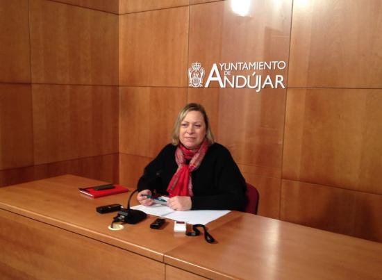 La concejala de Bienestar Social del Ayuntamiento de Andújar, Josefa Jurado.