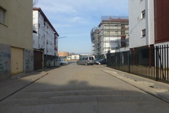 Una calle céntrica de Andújar.