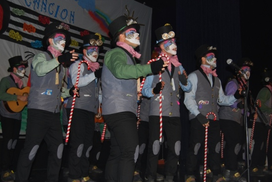 Una imagen del Carnaval de Villanueva de la Reina.