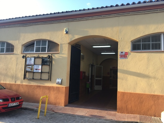 Mercado de Abastos de Porcuna, lugar donde se instalan empresas.