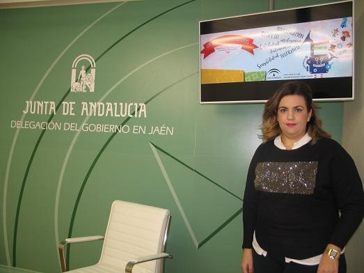 La coordinadora del IAM, Beatriz Martín. Foto: Junta de Andalucía.