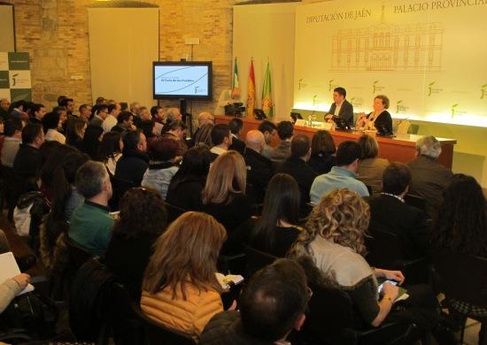 El Aula de Cultura de la Diputación ha acogido esta reunión preparatoria.